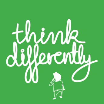 Think Differently green