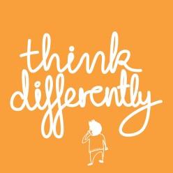 Think Differently orange