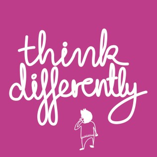 Think Differently purple